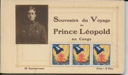 Très Joli Carnet De 12 Cartes Vues  SOUVENIR DE VOYAGE DU PRINCE LEOPOLD  Au CONGO - Other