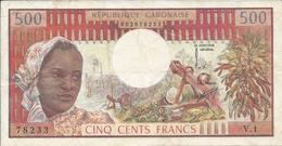 GABON   500 Francs   Nd(1974) - Gabon