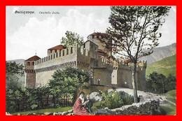 CPA BELLINZONA (Suisse)  Castello Svitto...K793 - TI Tessin