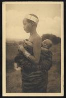 CPA  -- RUANDA - RWANDA  FEMME MUHUTU ET SON ENFANT  200.F* - Rwanda