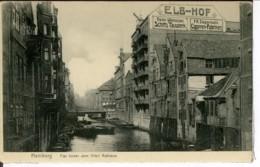 Etg Allemagne Hamburg Flet Hinter Dem Alten Rathaus Animee 1910 Neuve EXT - Allemagne
