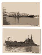 USS Missouri  Amarré Au Port De Marseille 1950/1960 - Bateaux