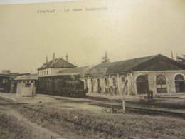 Cpa COGNAC (16)  La Gare (Intérieur ) - Cognac