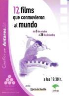 [MD4392] CPM - CINEMA - 12 FILMS QUE CPNMOVIERON - CINEFORUM ANTARES - CHARLIE CHAPLIN - PERFETTA - NV - Cinema