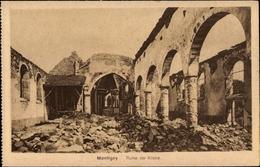 Cp Montigny Cher, Ruine Der Kirche - France