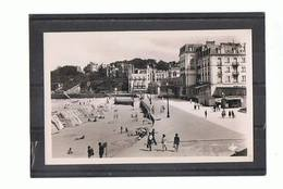 35 - DINARD - La Plage Devant L'Hôtel Des Terrasses  - 638 - Dinard