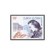 Timbre N° 3287 Neuf ** - 14ème Anniversaire De La Mort De Frédéric Chopin (1810-1849). - France