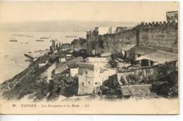 Etg Maroc Tanger Les Remparts Et La Rade No26 Ed LL - Marokko