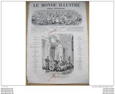 1866 Italie  PLAISSANCE SAINT ROCH / TOMBEAUX GALLO ROMAINS POUZIN  / COCHINCHINE / MOIS COMIQUE CHAM - Books, Magazines, Comics