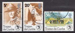 Tristan Da Cunha Used Set And SS - Gebruikt