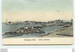 Mahogany Rafts - Belize Harbour - Belize