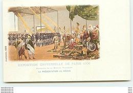 PARIS - Exposition Universelle De Paris 1900 - La Présentation Au Négus - Mission Marchand - Exhibitions