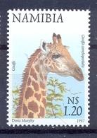 NAMIBIA 1997 Flora And Fauna - $1.20 - Giraffe Mnh** - Namibie (1990- ...)