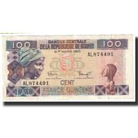 Billet, Guinea, 100 Francs, 1960, 1960-03-01, KM:35a, SUP - Guinée