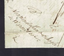 """Lac écrite De Warneton """" Ce Jeudi Dernier Jour De L'An 1840 """" => Blankenbergue / Bruges Griffe """" SR """" - 1830-1849 (Belgique Indépendante)"""