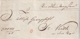 AUTRICHE LETTRE POUR ST.VEITH - ...-1850 Préphilatélie
