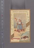 Chromo Fin XIXè / Jeu D'enfant, La Cresserelle, Déplacement Bébé Sur Roulettes / Guerin Boutron - Guerin Boutron