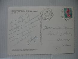 Monestier Du Percy Recette Auxiliaire Cachet Hexagonal - 1961-....