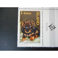 Timbre N° 196 Neuf ** - Chiot Teckel - Aland