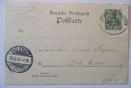 Bahnpost Bohmte Holzhausen Zug 3 1903, Abs.: Pschorr Bräu Berlin (61068) - Timbres