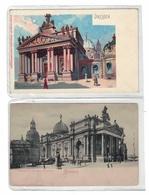 DC88 - Dresden Lot 2 Karten Kunstausstellung Kustakademie - Dresden