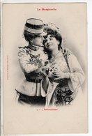 Cpa Illustrateur Bergeret - La Marguerite Passionnement 1903 - Bergeret