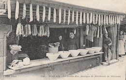 CPA - Marchande De Salaisons - La Grande Rue - Morlaix - Magasins
