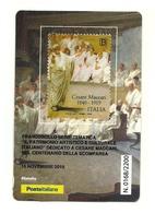 2019 - Italia - Maccari - Tessera Filatelica - 6. 1946-.. Republic