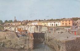 Postcard The Harbour Charlestown St Austell Bay PU Helston 1964  My Ref  B13952 - England