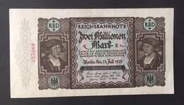 Reichsbanknote 2 Milionen Mark 1923 Erh. II - 1918-1933: Weimarer Republik
