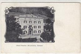 Serneus - Hotel Mezzaselva - Interessante Frankatur - 1909        (P-220-90520) - GR Grisons