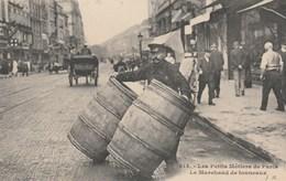 CPA - Top Collection - Le Marchand De Tonneaux à Paris - - Marchands Ambulants