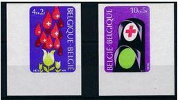 Belgique 1974  Nobel Croix Rouge Red Cross Imperf MNH - Nobelpreisträger