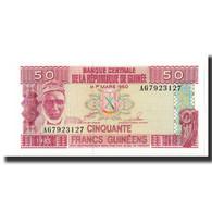 Billet, Guinea, 50 Francs, 1960, 1960-03-01, KM:29a, SPL - Guinée