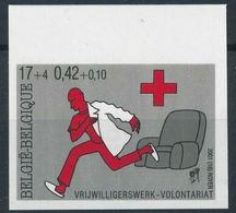 Belgique 2001 Nobel Croix Rouge Red Cross Imperf MNH - Nobelpreisträger