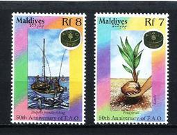 Maldivas Nº 2074/5 Nuevo - Maldivas (1965-...)