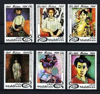 Maldivas Nº 1784/9 Nuevo - Maldivas (1965-...)