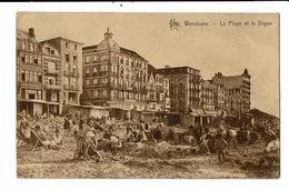 CPA-Carte Postale-Belgique-Wenduine La Plage Et La Digue-en 1932   VM13213 - Wenduine