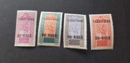 Niger  Yvert 25-28** - Niger (1921-1944)