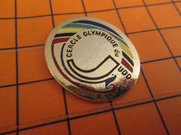 420 Pin's Pins / Belle Qualité & Rare / THEME SPORTS : BAGARRE EN PYJAMA CERCLE OLYMPIQUE JUDO - Judo