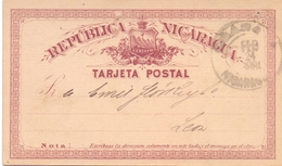 POST CARD NICARAGUA STATIONERI 1924    (FEB201324) - Nicaragua