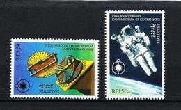 Maldivas Nº 1664/5 Nuevo - Maldivas (1965-...)