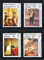 Maldivas Nº 1236/9 Nuevo - Maldivas (1965-...)