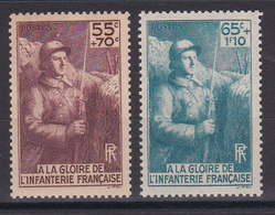 D120/ LOT N° 386/387  NEUF ** COTE 17€ - Collections