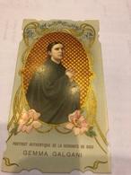 Portrait Authentique De La Servante De Dieu Gemma Galgani - Images Religieuses