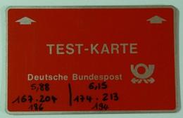 GERMANY - L&G - Landis & Gyr - Test Karte - 1983 - 3 Voltage Lines - 0305...- Mint - RRRR - T-Series : Tests