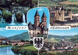 1 AK Luxemburg * Sehenswürdigkeiten In Echternach - Mehrbildkarte - Krügerkarte * - Larochette