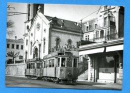 NY055, Composition Pour Villeneuve Dans La Grand-Rue à Montreux, Phot. F. Stäuble, Suisse, GF, Non Circulée - Tranvía