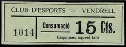 VIÑETAS GUERRA CIVIL. ESPAÑA. SPANISH CIVIL WAR LABEL. - Viñetas De La Guerra Civil