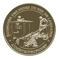 Monnaie De Paris , 2013 , Neufchef , écomusée Des Mines De Fer De Lorraine , Le Wagonnet 1927 - Monnaie De Paris